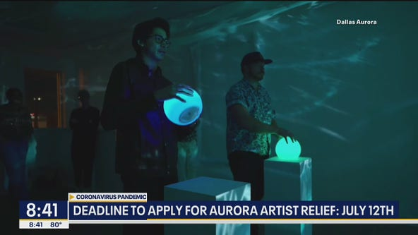 Aurora arts event in Dallas becomes relief program for artists