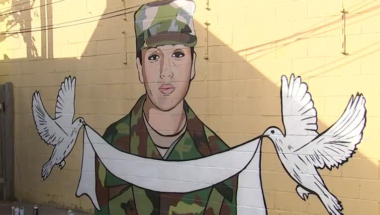 Houston mural for Vanessa Guillen