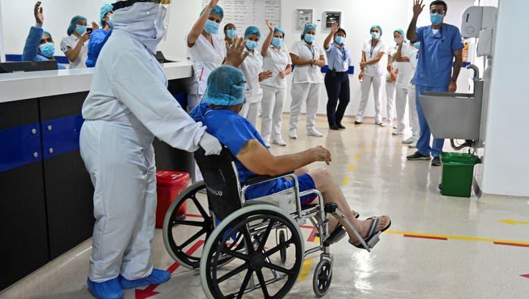 COLOMBIA-HEALTH-VIRUS-RELEASE