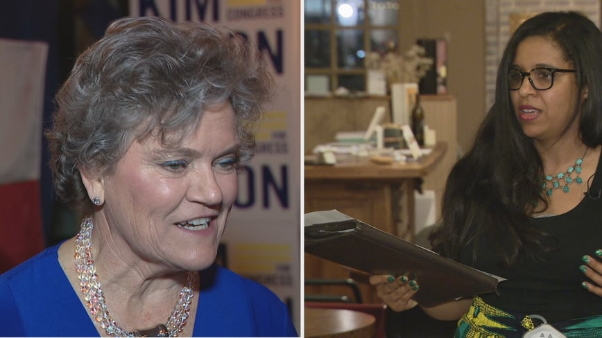 Candace Valenzuela takes early lead over Kim Olson in Democratic runoff for Texas US House District 24