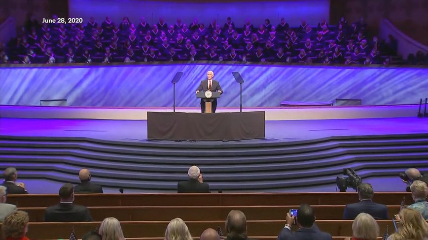 First Baptist Dallas confirms positive cases among choir members ahead of vice president's visit