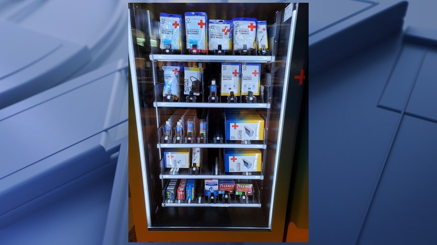PPE vending machine now available at Dallas Love Field