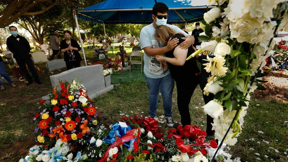 McAllen, Texas coronavirus COVID-19 Los Angeles Times photographer Carolyn Cole