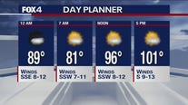 Aug. 12 overnight forecast