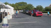 Drive-thru back to school events held across Fort Worth to help families prepare for virtual learning
