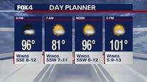 August 12, 2020 evening forecast