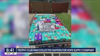 Trophy Club man uses Facebook group to collect thousands of diaper donations