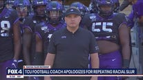 TCU Coach Gary Patterson apologizes for repeating racial slur
