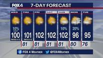 Aug. 12 morning forecast
