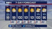 Aug. 11 morning forecast