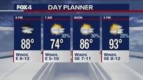 Aug. 4 evening forecast