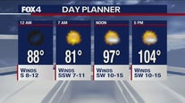 Aug. 13 overnight forecast