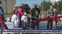 Basketball court in Oak Cliff created to honor former NBA player Andre Emmett