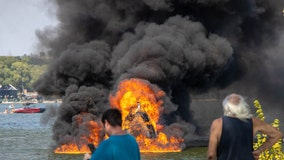 Multiple injuries reported after boat explosion on Lake Weatherford