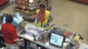 Rockwall police searching for convenience store robber wearing safety vest