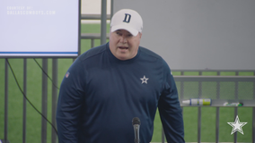 New Cowboys head coach meets with veteran players for the first time
