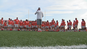 Fall practices begin for Texas' 4A and under football programs
