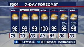 Aug. 6 evening forecast