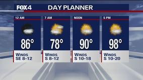 Aug. 6 overnight forecast