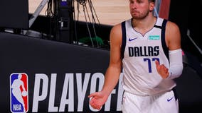 Leonard leads Clippers past Doncic, Mavs to reach 2nd round