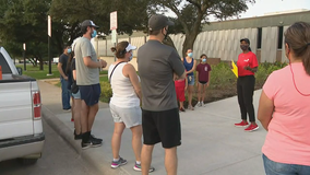 Parents, volunteers go door-to-door to help Fort Worth ISD families get registered for school