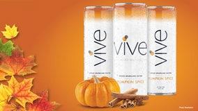 Vive brand launching pumpkin spice spiked seltzer