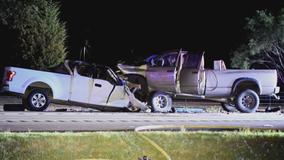 1 dead, 2 injured in wrong-way crash in Kaufman County
