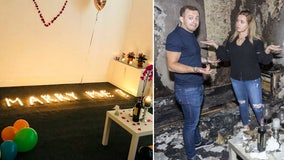 Man proposes to girlfriend with candles, burns down their apartment