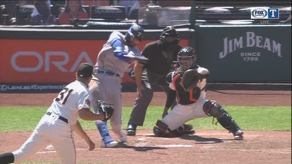 Gallo, Choo homer as Rangers avoid sweep in San Francisco