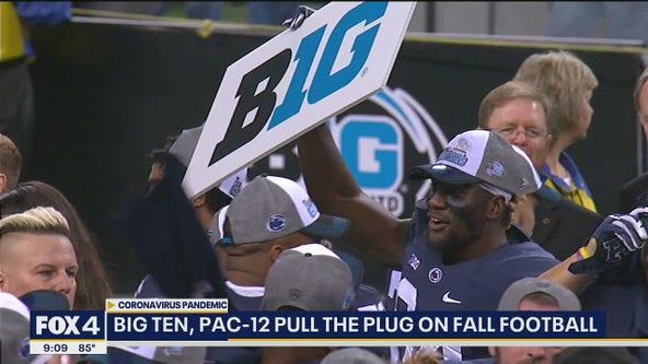 Big Ten and Pac-12 postpone the fall football season
