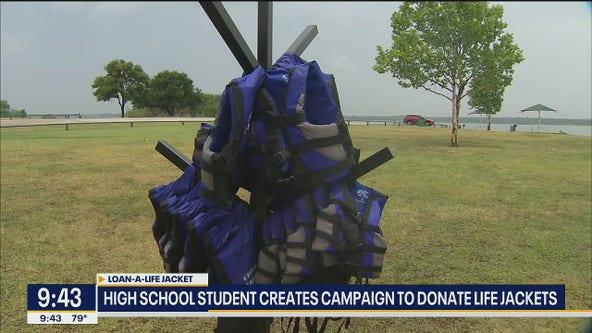 High school senior raises $6K for life jacket program
