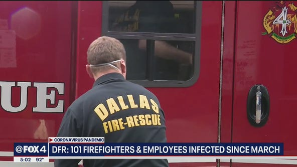 Dallas Fire-Rescue has continued to respond to calls without delays during COVID-19 pandemic
