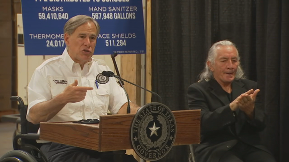 Abbott: Texas to provide PPE at no cost to schools