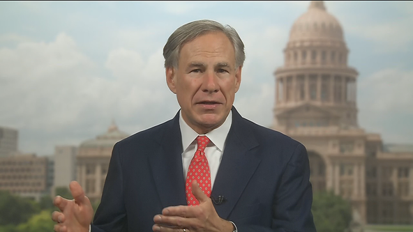 Texas governor discusses the upcoming flu season, schools reopening and ending his mask mandate