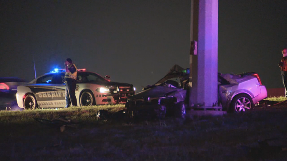 Deputies: Woman dies in street racing crash on I-20