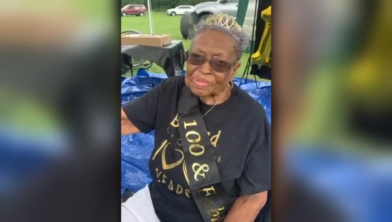 julia lee kelley 100 birthday