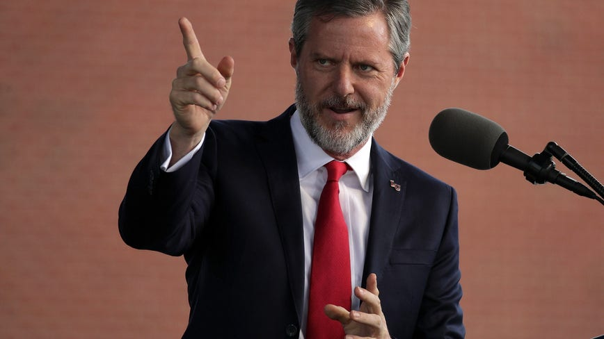 Liberty University's Jerry Falwell taking leave of absence