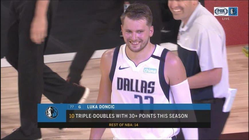 Doncic's triple-double sends Mavericks past Kings in OT