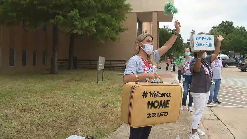 Richardson ISD welcomes 300 teachers for new school year amid coronavirus pandemic