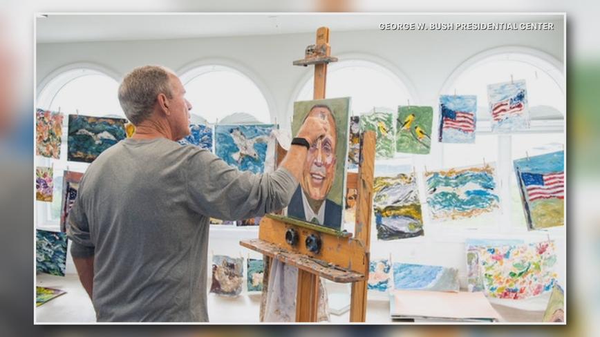 George W. Bush to publish book of immigrant portraits