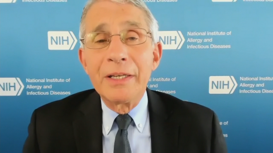 Dr. Anthony Fauci discusses COVID-19 vaccines and reopening schools