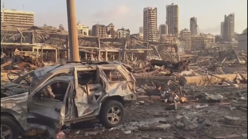 North Texans working to help those who are recovering from explosion in Beirut