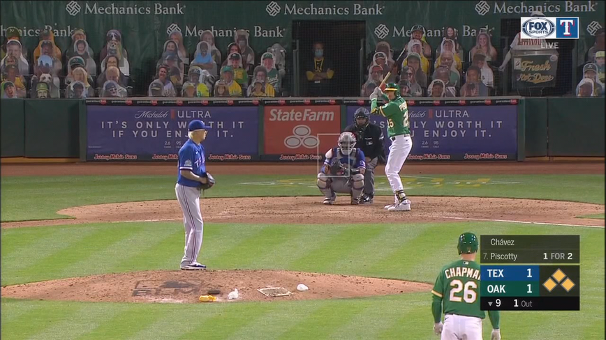 Piscotty hits A's 2nd walkoff slam this year, beats Rangers
