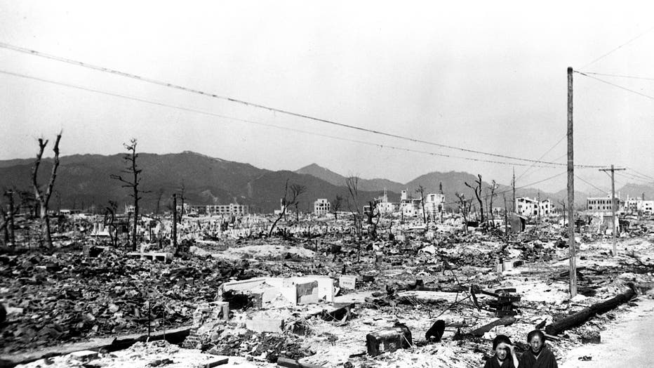 Atomic Bomb Aftermath, Hiroshima