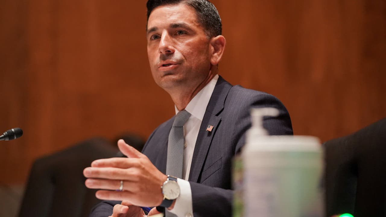 Acting DHS Secretary Chad Wolf denies intelligence meddling...