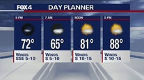 Sept. 25 evening forecast