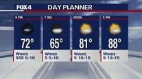 Sept. 25 evening forecast