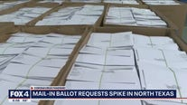 North Texans requesting mail-in ballots for upcoming election at record-breaking numbers