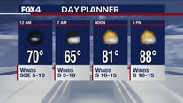 Sept. 25 overnight forecast