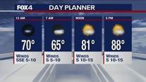 Sept. 25 overnight forecast
